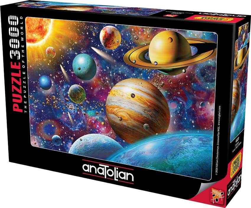 Puzzle Anatolian Odyssey, Sistema Solar de 3000 Piezas