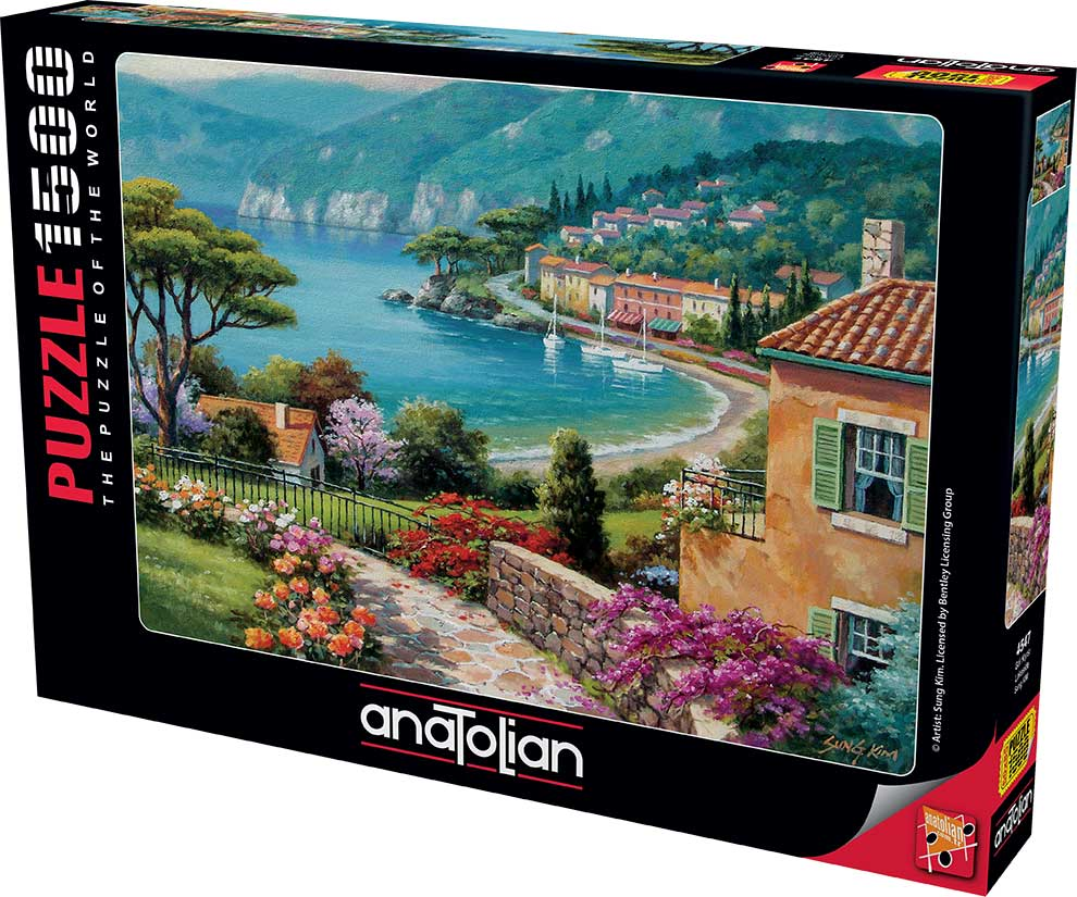 Puzzle Anatolian Orilla del Lago de 1500 Piezas
