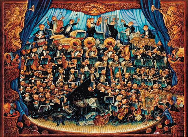 Puzzle Anatolian Orquesta de 1000 Piezas