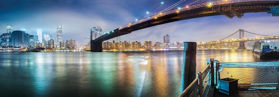 Puzzle Anatolian Panorámica del Puente de Brooklyn de 1000 Pieza