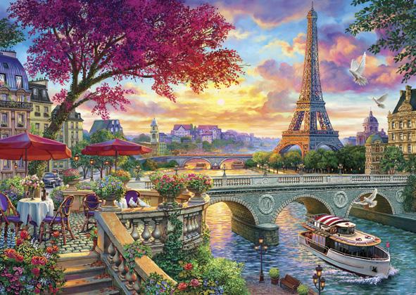 Puzzle Anatolian Paris Floreciente de 3000 Piezas
