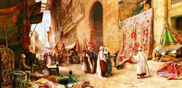 Puzzle Anatolian Paseando por el Bazar de 1500 Piezas