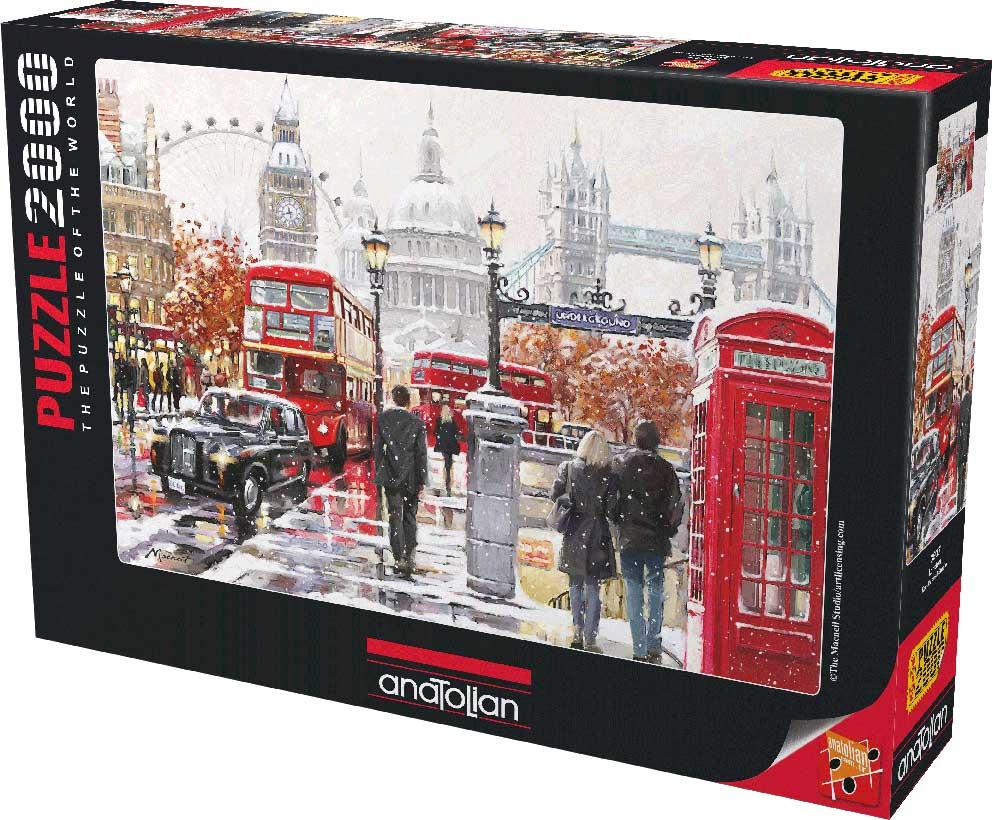 Puzzle Anatolian Paseo por Londres  de 2000 Piezas