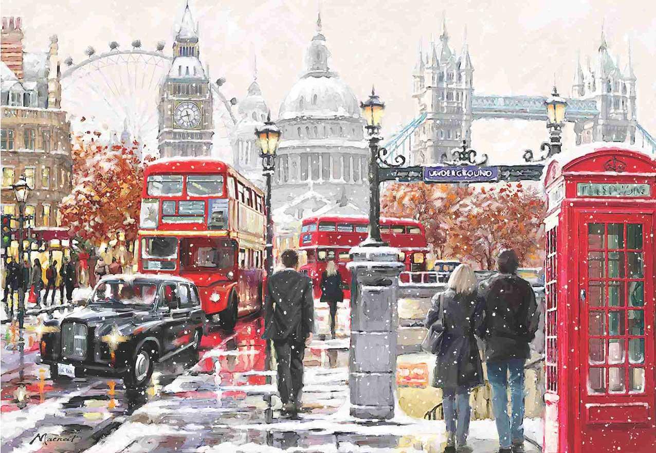 PuzzlesAnatolian Paseo por Londres de 2000 Piezas