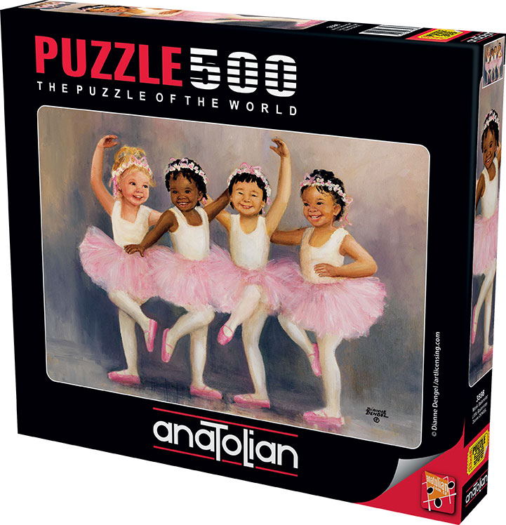 Puzzle Anatolian Pequeñas Bailarinas de 500 Piezas