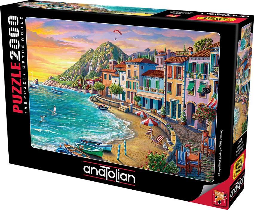 Puzzle Anatolian Playa Maravillosa de 2000 Piezas