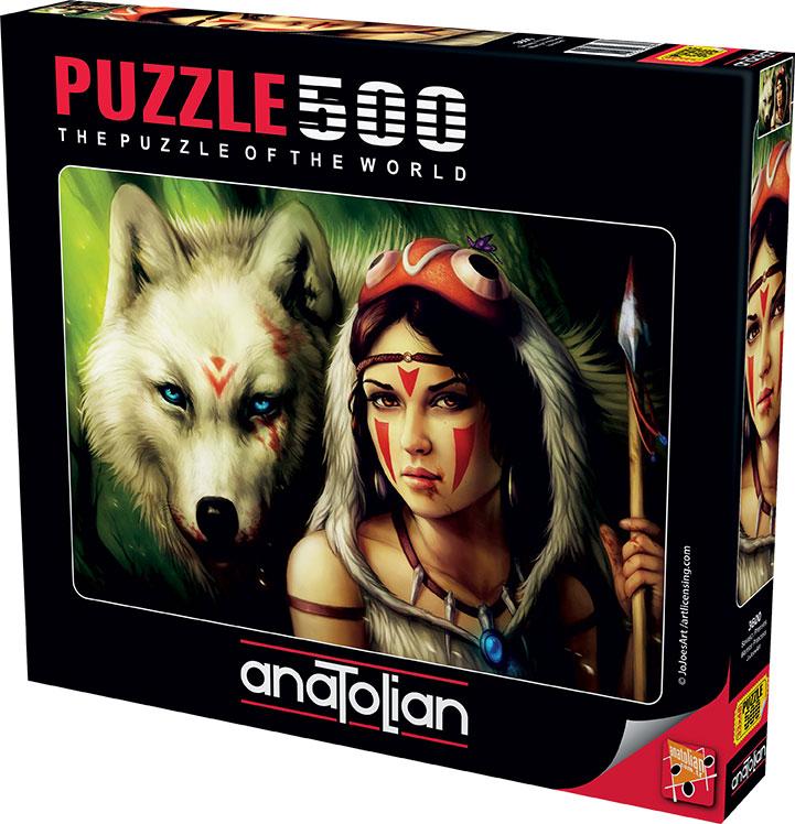 Puzzle Anatolian Princesa Guerrera de 500 Piezas