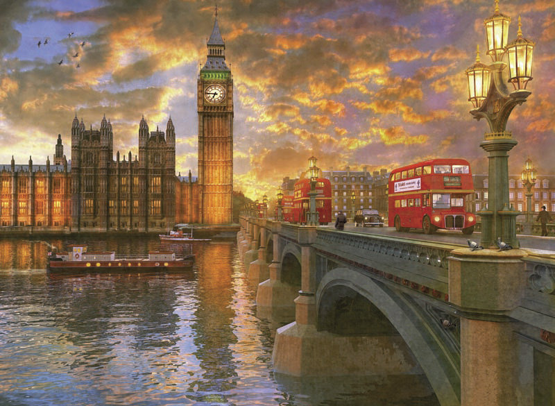 Puzzle Anatolian Puente Sobre el Támesis, Londres de 1000 Piezas