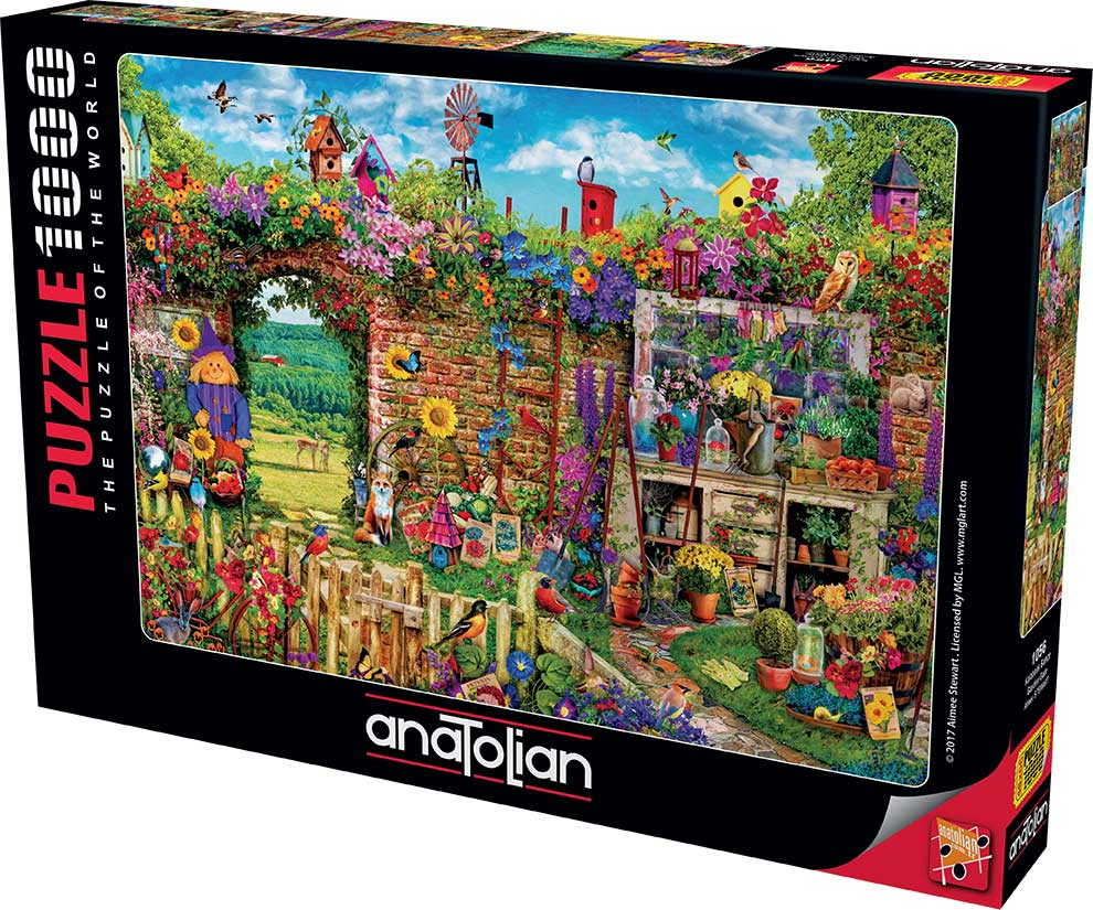 Puzzle Anatolian Puerta del Jardín de 1000 Piezas