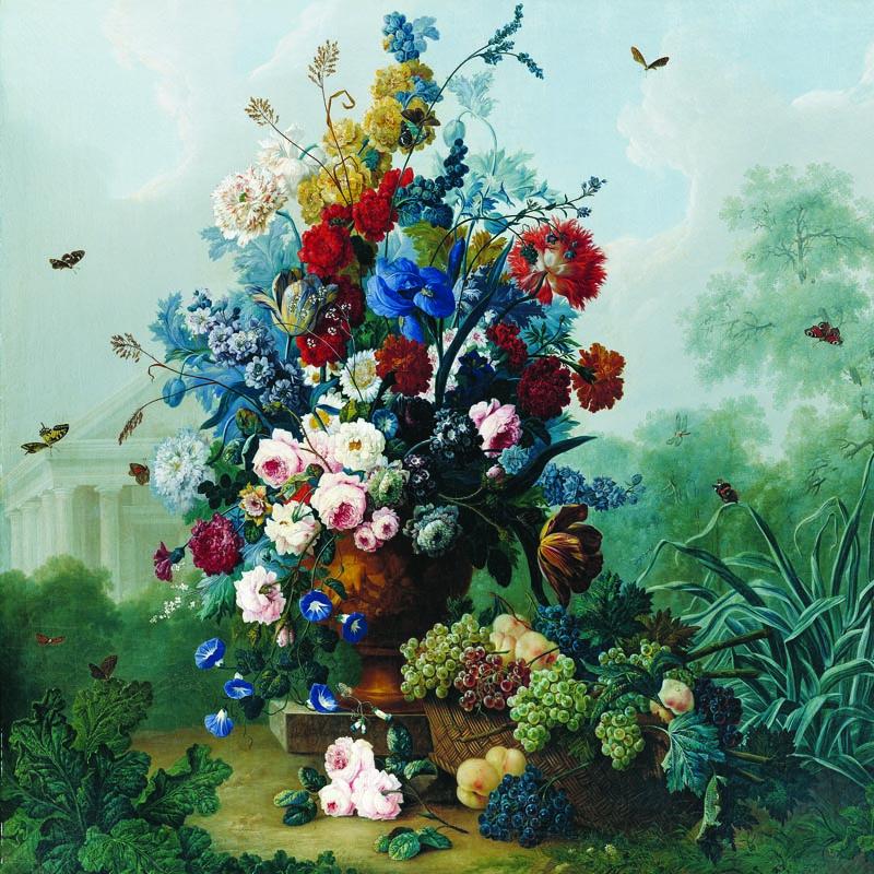 Puzzle Anatolian Ramo de Flores de 1024 Piezas