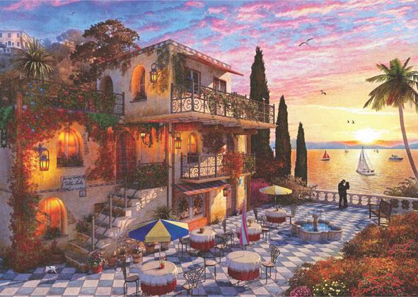 Puzzle Anatolian Romance en el Mediterráneo de 3000 Piezas