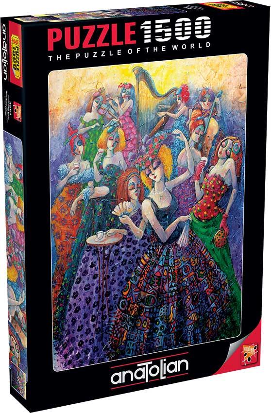 Puzzle Anatolian Salón de Baile Romántico de 1500 Piezas