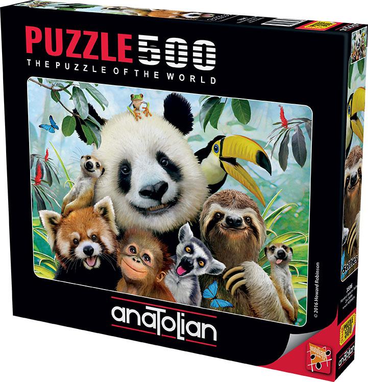 Puzzle Anatolian Selfie en el Zoo de 500 Piezas