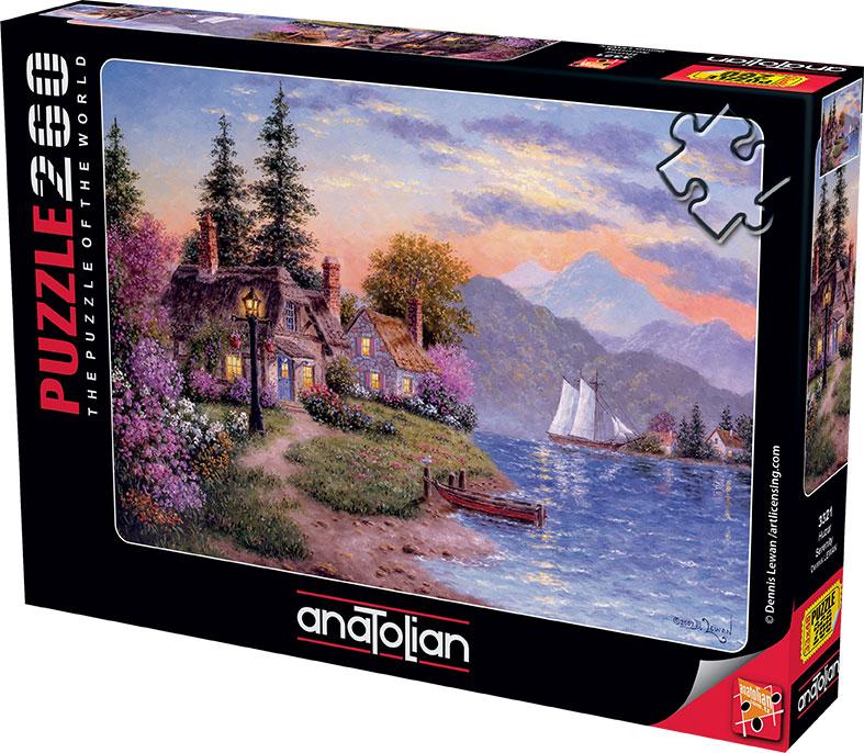 Puzzle Anatolian Serenidad de 260 Piezas