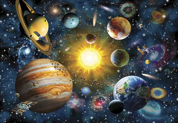 Puzzle Anatolian Sistema Solar de 2000 Piezas