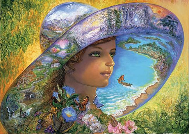 Puzzle Anatolian Sombrero De Fantasía de 1500 Piezas