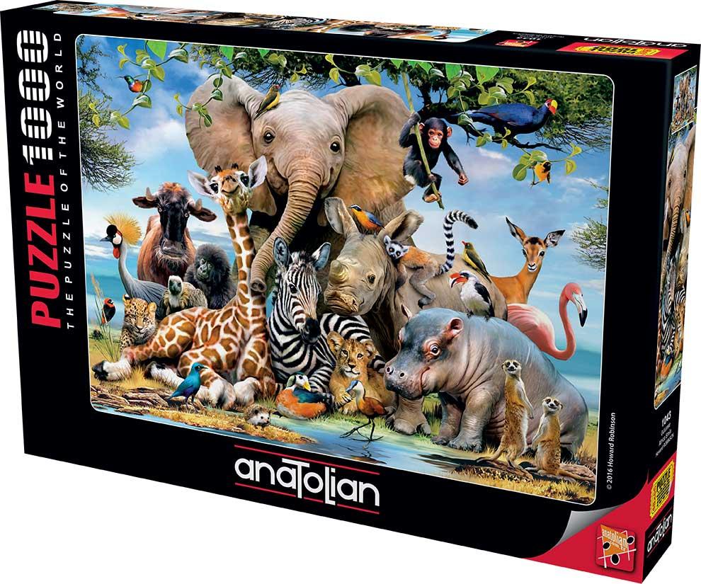 Puzzle Anatolian Sonrisa Africana de 1000 Piezas