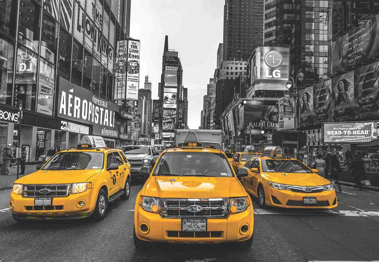 Puzzles Anatolian Taxis de Nueva York de 2000 Piezas