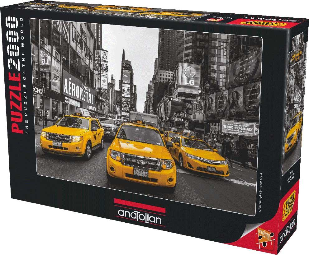 Puzzle Anatolian Taxis de Nueva York  de 2000 Piezas