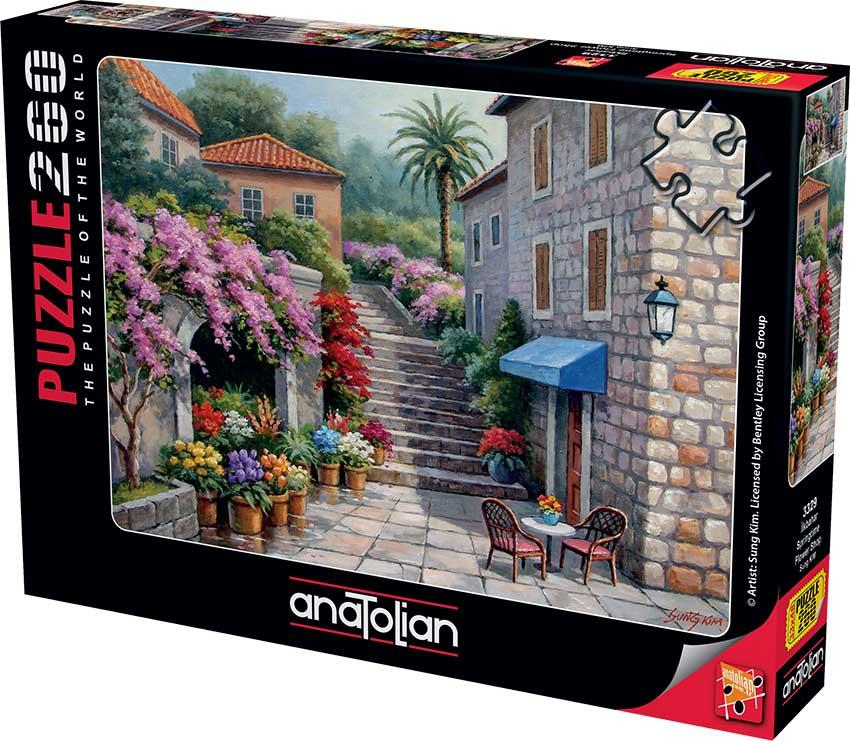 Puzzle Anatolian Tienda de Flores de Primavera de 260 Piezas