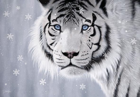 Puzzle Anatolian Tigre de Cristal de 500 Piezas