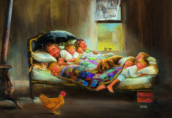 Puzzle Anatolian Todos a Dormir de 2000 Piezas