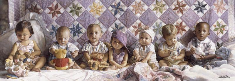 Puzzle Anatolian Todos en Fila de 1000 Piezas
