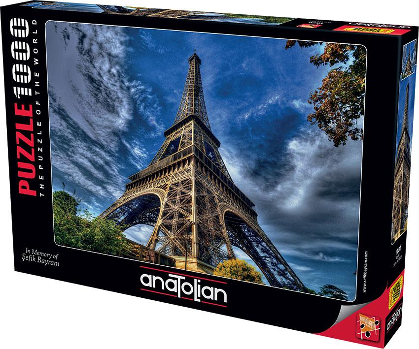Puzzle Anatolian Torre Eiffel de 1000 Piezas