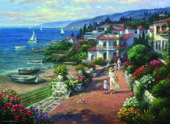 Puzzle Anatolian Tranquilidad en la Costa de 1000 Piezas