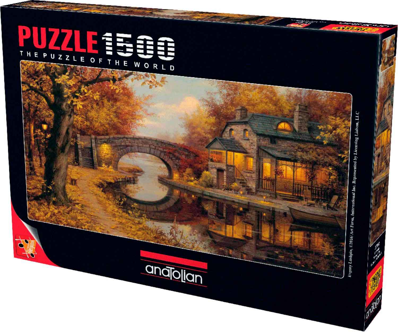 Puzzle Anatolian Tranquilidad Otoñal de 1500 Piezas
