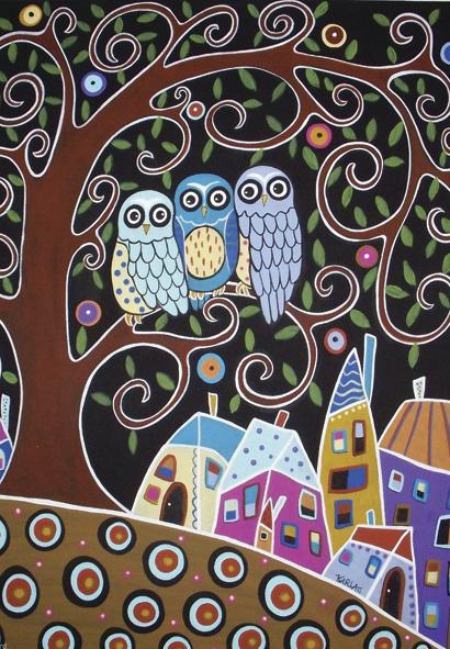 Puzzle Anatolian Tres Buhos de 500 Piezas