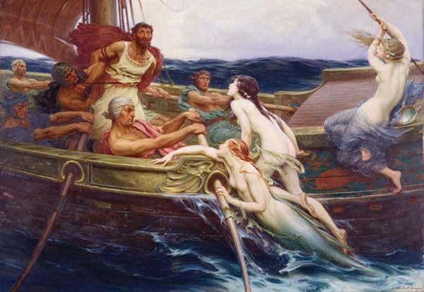 Puzzle Anatolian Ulises y las Sirenas de 2000 Piezas