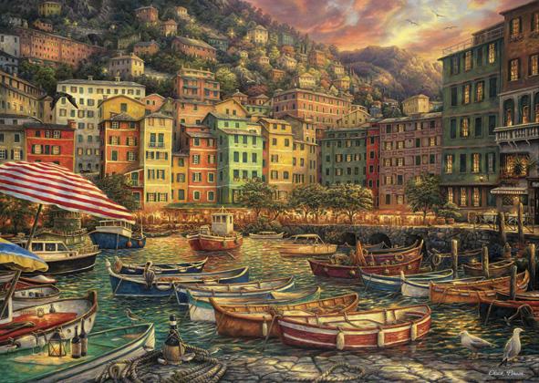 Puzzle Anatolian Vibraciones de Italia de 3000 Piezas