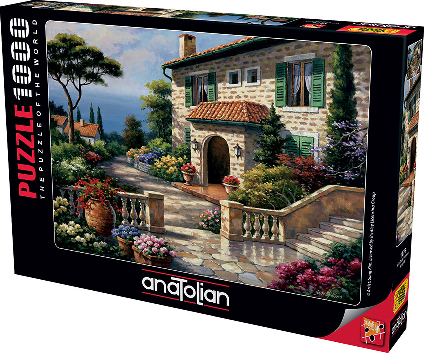 Puzzle Anatolian Villa de la Fontana de 1000 Piezas