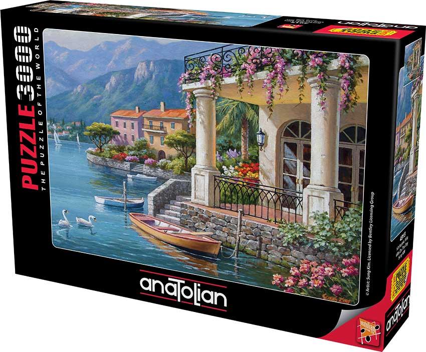 Puzzle Anatolian Villa en la Bahía de 3000 Piezas