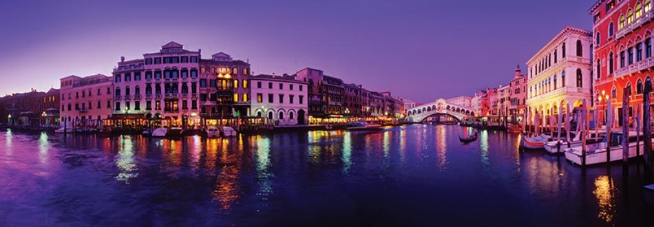 Puzzle Anatolian Vista del Gran Canal de Venecia de 1000 Piezas