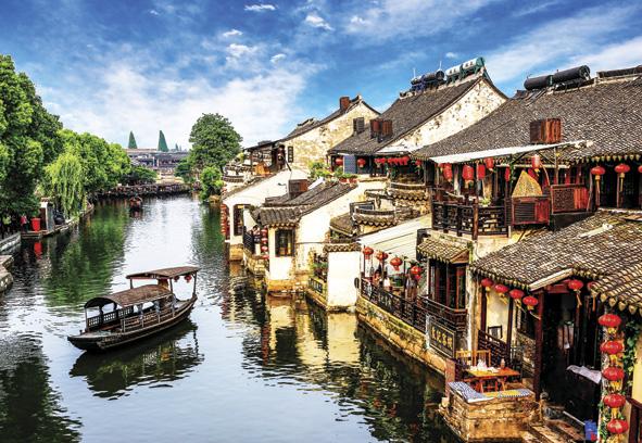 Puzzle Anatolian Xitang Ciudad Antigua, China de 2000 Piezas