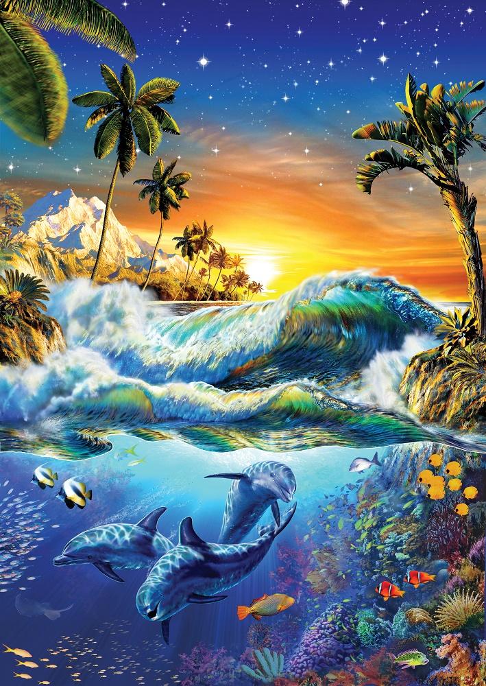 Puzzle Art Puzzle Amanecer en Hawai de 1000 Piezas