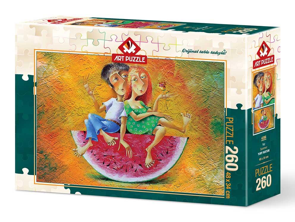 Puzzle Art Puzzle Amor de Verano de 260 Piezas