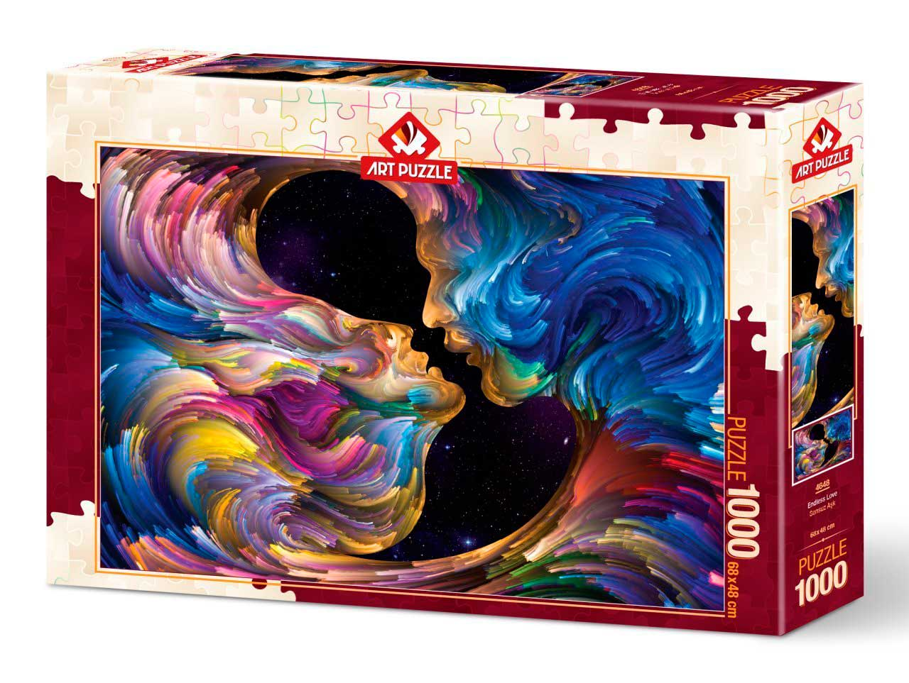 Puzzle Art Puzzle Amor Infinito de 1000 Piezas