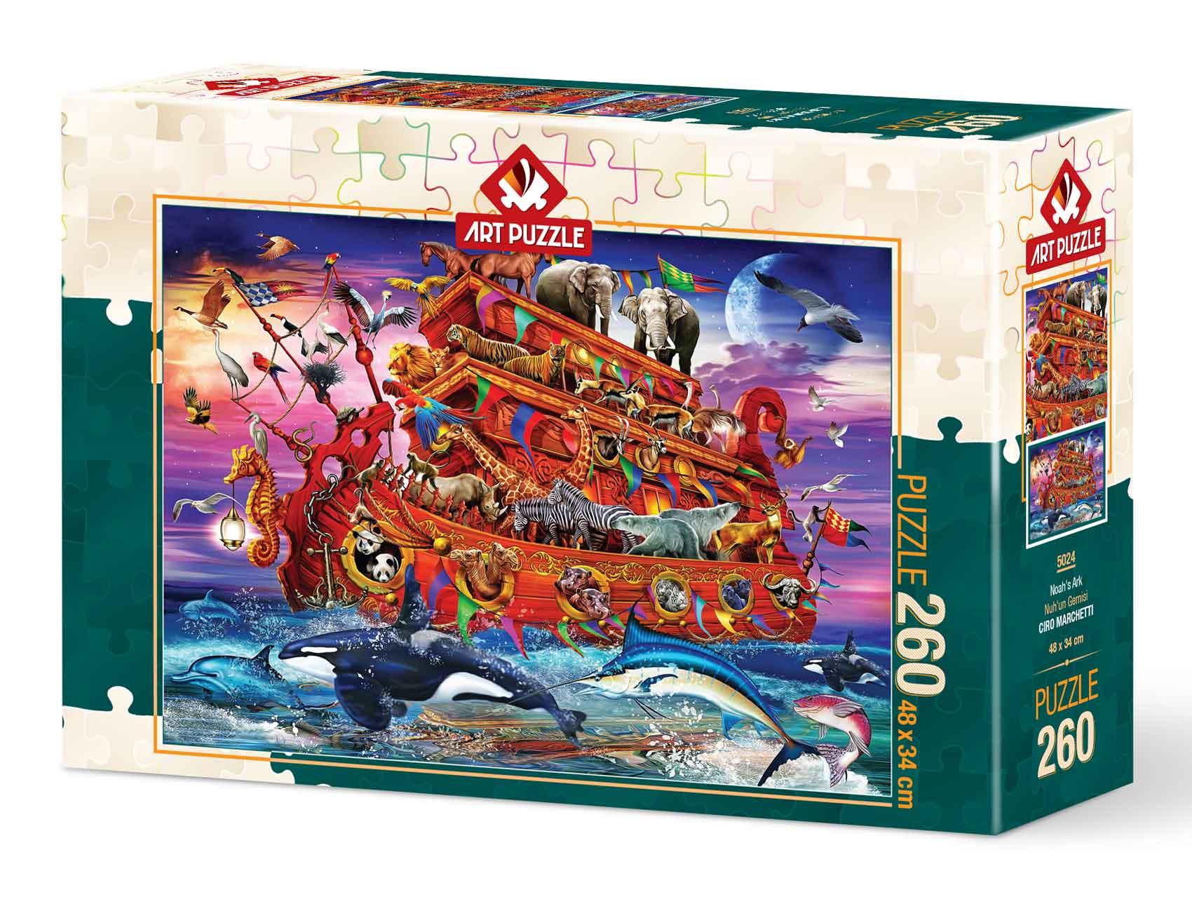 Puzzle Art Puzzle Arca de Noé de 260 Piezas