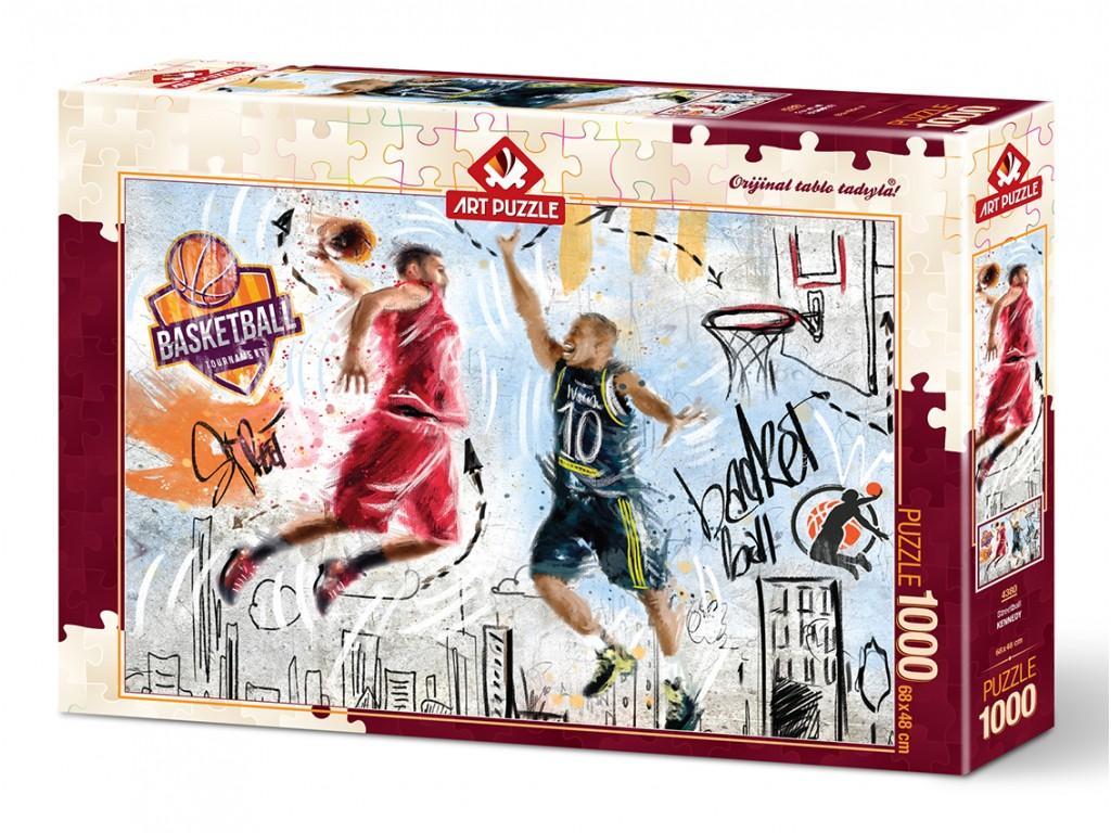 Puzzle Art Puzzle Baloncesto Callejero de 1000 Piezas
