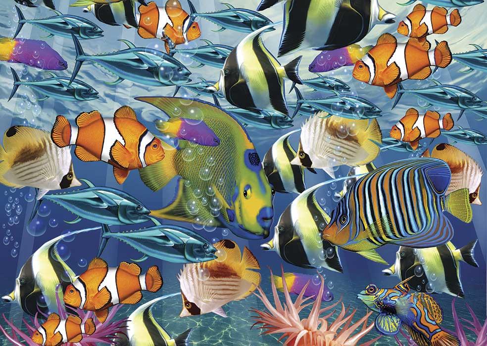Puzzle Art Puzzle Banco de Peces Tropicales de 260 Piezas