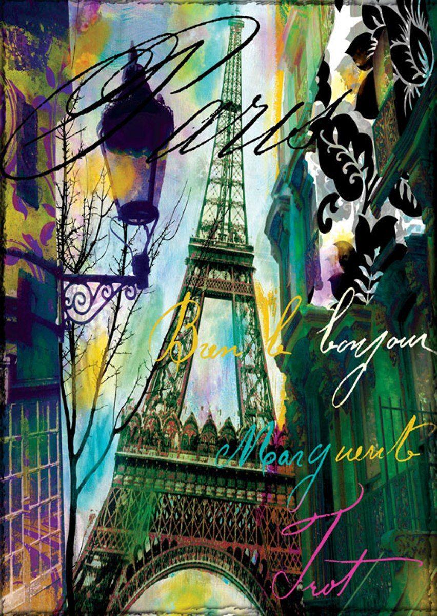 Puzzle Art Puzzle Bonjour Paris de 1000 Piezas