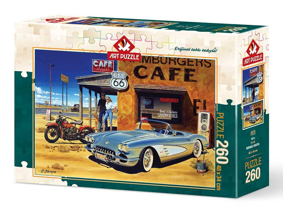 Puzzle Art Puzzle Café Arizona de 260 Piezas