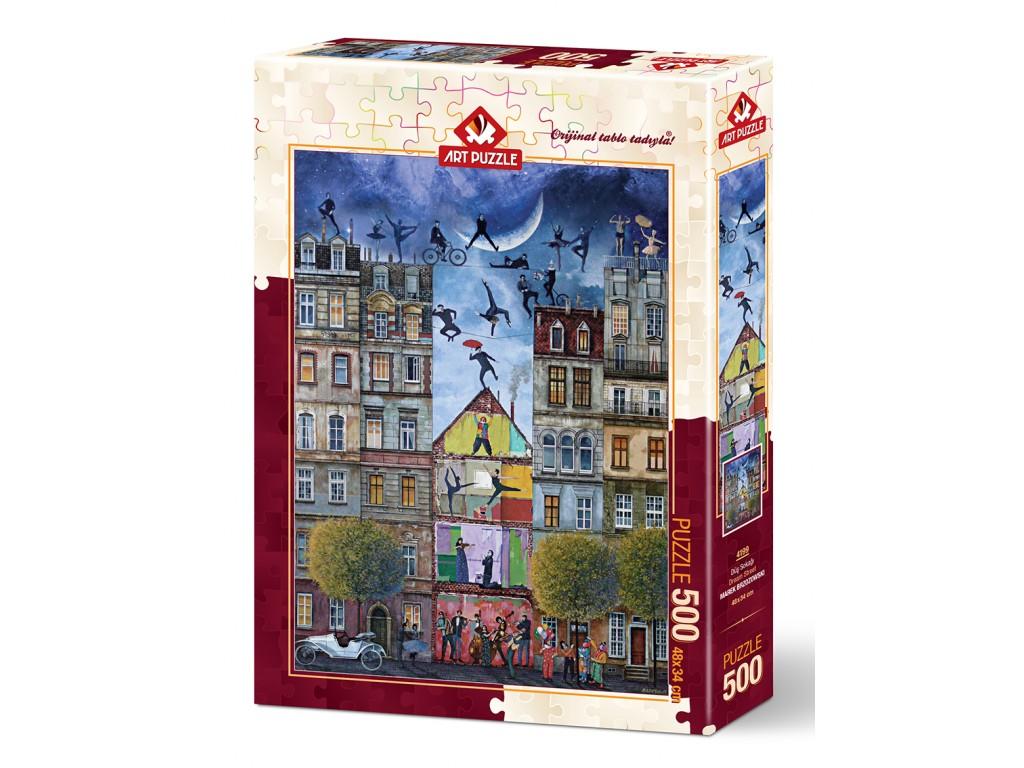 Puzzle Art Puzzle Calle de Sueños de 500 Piezas