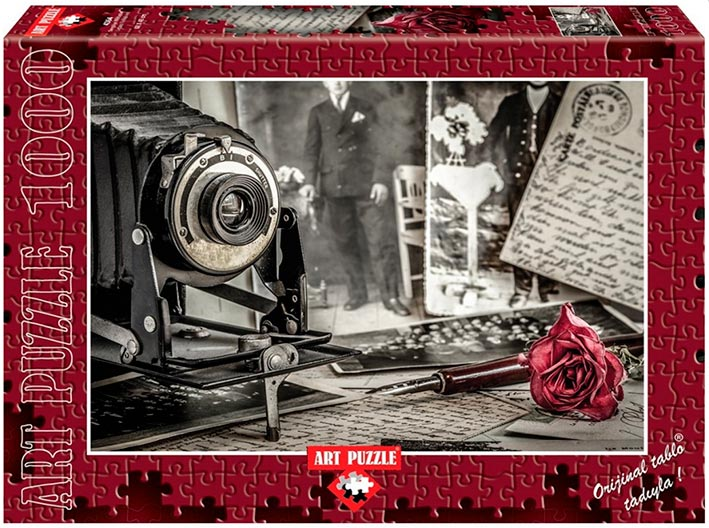 Puzzle Art Puzzle Cartas a su Amado 1000 Piezas