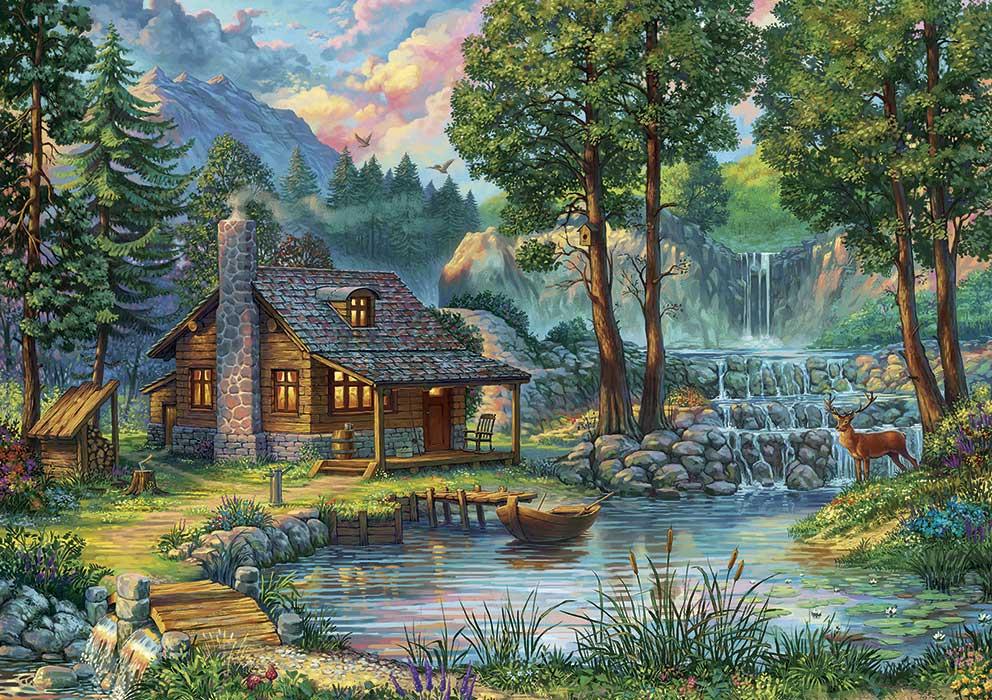 Puzzle Art Puzzle Casa de Cuento de Hadas de 1000 Piezas
