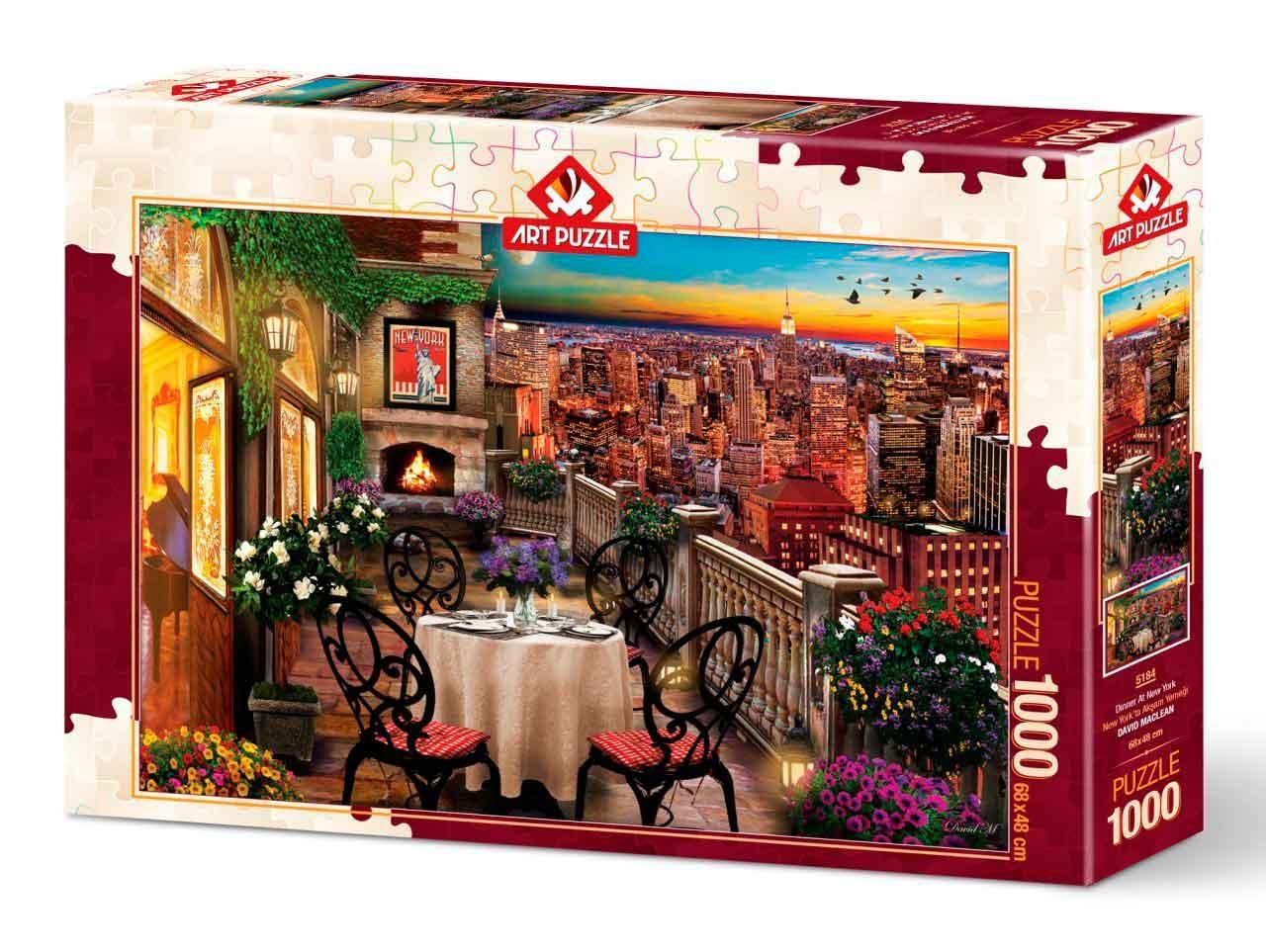 Puzzle Art Puzzle Cena en Nueva York de 1000 Piezas