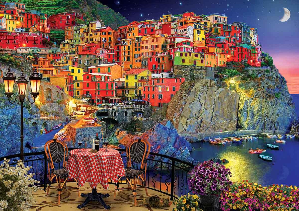 Puzzle Art Puzzle Cinque Terre, Italia de 1500 Piezas